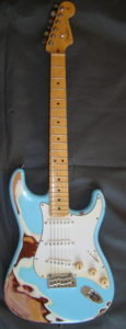 Stratocaster American Standard Sonic Blue front