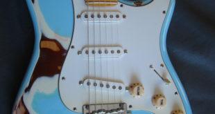 Fender Strato Relic Sonic Blue