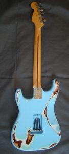 Stratocaster American Standard Sonic Blue Relic retro