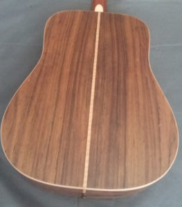 palissandro fondo e fasce chitarra acustica