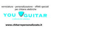 you gustar personalizzazione chitarre