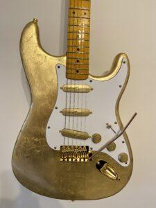 Gold Leaf Stratocaster You Guitar